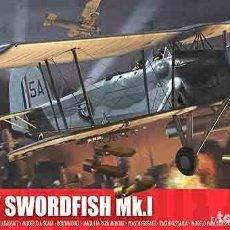 Maquetas: MAQUETA 1/72 - FAIREY SWORDFISH MK.I AIRFIX - NR. A04053 - 1:72. Lote 122920799