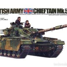 Maquetas: MAQUETA 1/35 - BRITISH ARMY CHIEFTAIN MK.5 TAMIYA - NR. MM168 - 1:35. Lote 122923595