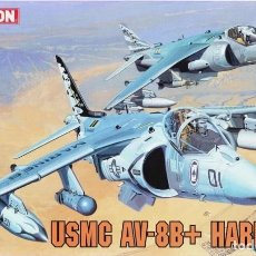 Maquetas: MAQUETA 1/144 - USMC AV-8B + HARRIER II DRAGON - NR. 4596 - 1:144. Lote 122926015