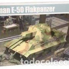 Maquetas: MAQUETA 1/35 - GERMAN E-50 FLAKPANZER TRUMPETER - NR. 01537 - 1:35. Lote 122928007