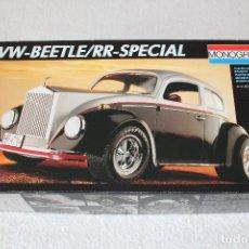 Maquetas: REVELL MONOGRAM ESCALA 1/16 : WW-BEETLE/RR-SPECIAL, REF 77007 - AÑO 1992.. Lote 123758495
