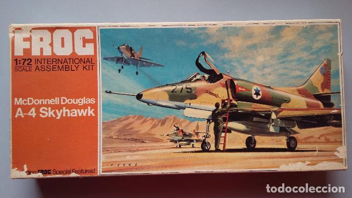 MCDONNELL DOUGLAS A 4 SKYHAWK. FROG 1/72 (Juguetes - Modelismo y Radio Control - Maquetas - Aviones y Helicópteros)