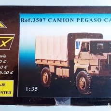 Maquetas: NIMIX REF 3507 KIT DE MONTAJE EN RESINA PEGASO CARGA 3046 4X4. Lote 92163235
