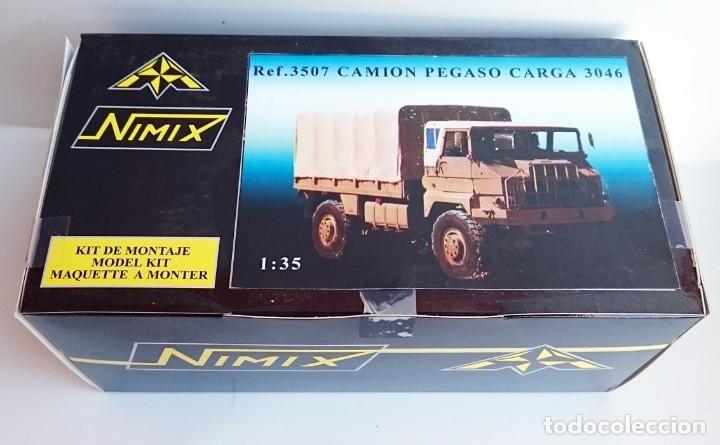 NIMIX REF 3507 KIT EN RESINA PEGASO MILITAR 3046 TTE TROPAS CARGA 3046 4X4 (Juguetes - Modelismo y Radiocontrol - Maquetas - Coches y Motos)