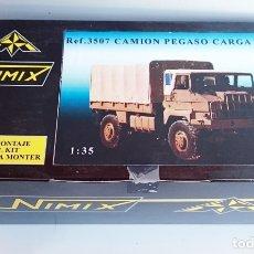 Maquetas: NIMIX REF 3507 KIT EN RESINA PEGASO 3046 TTE TROPAS CARGA 3046 4X4 / Y MUY DIFÍCIL DE ENCONTRAR. Lote 92163235