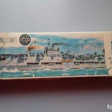 Maquetas: HMS ARK ROYAL. AIRFIX 1/600. Lote 124528375