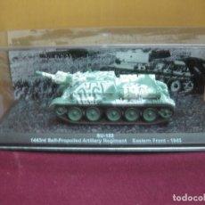 Maquettes: SU-122. EASTERN FRONT1945. ESCALA 1.72 EN SU CAJA. ALTAYA. TANQUE. Lote 124915963