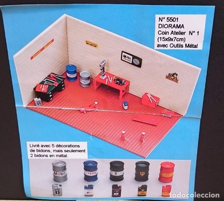 Maquetas: MINI RACING KIT DIORAMA TALLER Nº 1 - Foto 2 - 93622975