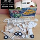 Maquetas: AIRFIX 32 SERIES C1-50 VOLKSWAGEN DELUXE SEDAN PLÁSTICO MADE AND LITHO IN USA. Lote 95762847