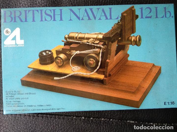 Cañón Ingles British Naval 12 Lb Artesanía Lati Sold Through