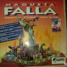 Maquetas: FALLAS DE VALENCIA.MAQUETA DE FALLA DEL ARTISTA RAMÓN ESPINOSA. Lote 204262098