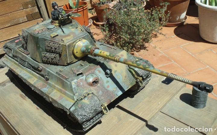Maquetas: UNIMAX FORCE OF VALOR KING TIGER ESCALA 1/16 SD.KFZ. 182. 502 SS SCHWERE PANZER ABTEILUNG - 1:16 - Foto 4 - 125401627