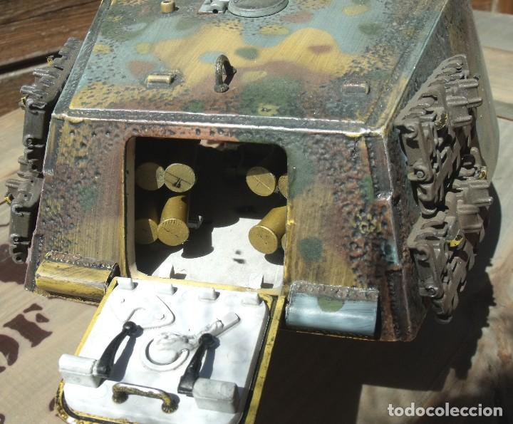 Maquetas: UNIMAX FORCE OF VALOR KING TIGER ESCALA 1/16 SD.KFZ. 182. 502 SS SCHWERE PANZER ABTEILUNG - 1:16 - Foto 21 - 125401627