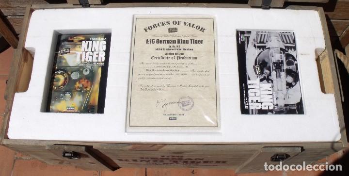 Maquetas: UNIMAX FORCE OF VALOR KING TIGER ESCALA 1/16 SD.KFZ. 182. 502 SS SCHWERE PANZER ABTEILUNG - 1:16 - Foto 34 - 125401627
