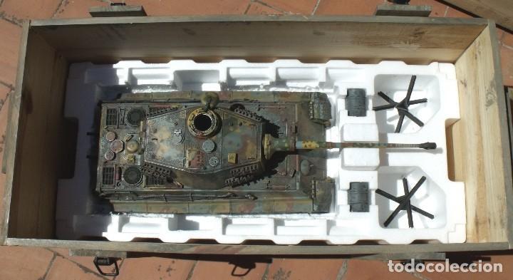 Maquetas: UNIMAX FORCE OF VALOR KING TIGER ESCALA 1/16 SD.KFZ. 182. 502 SS SCHWERE PANZER ABTEILUNG - 1:16 - Foto 41 - 125401627