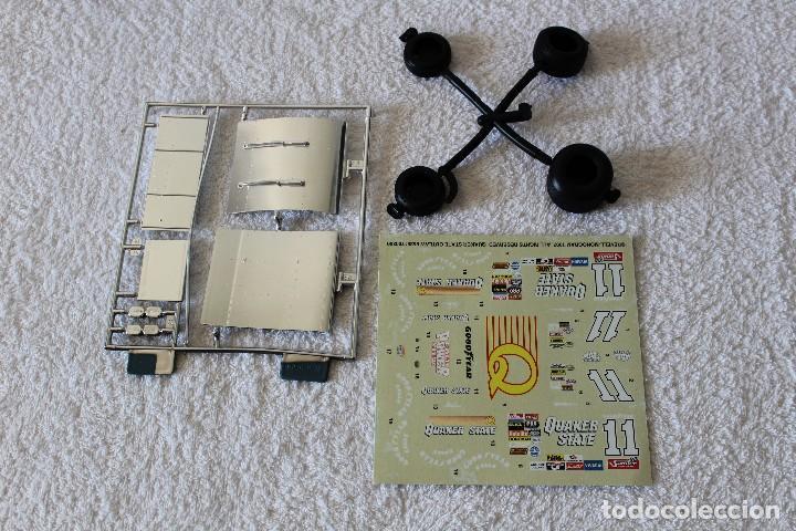 Maquetas: REVELL MONOGRAM. ESCALA 1/24 - QUAKER STATE SPRINT CAR, 11 STEVE KINSER - MADE IN USA 1998, - Foto 4 - 125441835