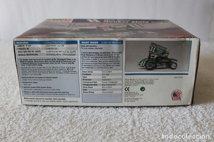 Maquetas: REVELL MONOGRAM. ESCALA 1/24 - QUAKER STATE SPRINT CAR, 11 STEVE KINSER - MADE IN USA 1998, - Foto 6 - 125441835