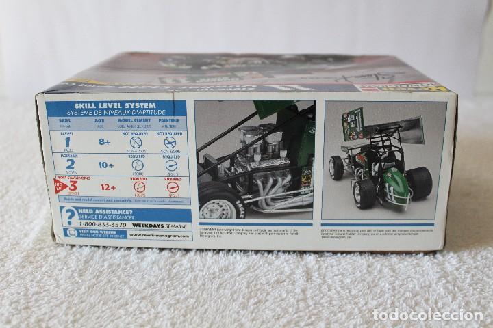 Maquetas: REVELL MONOGRAM. ESCALA 1/24 - QUAKER STATE SPRINT CAR, 11 STEVE KINSER - MADE IN USA 1998, - Foto 8 - 125441835