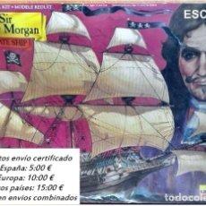 Maquetas: LINDBERG MODELS KIT BARCO PIRATA SIR HENRY MORGAN PLASTIC / CAJA PRECINTADA. Lote 72418490