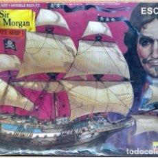 Maquetas: 1994 LINDBERG MODELS KIT BARCO PIRATA SIR HENRY MORGAN PLASTIC / CAJA PRECINTADA. Lote 72418490