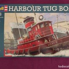 Maquetas: HARBOUR TUG BOAT 1:108 REVELL 05207 MAQUETA BARCO. Lote 126125112