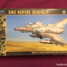 Maquetas: IAI KFIR C2/C7 1:48 AMK 88001 MAQUETA AVIÓN ISRAEL. Lote 126129936