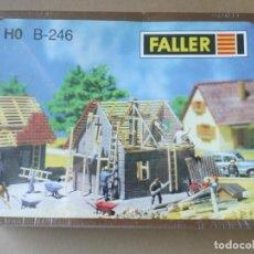 Maquetas: FALLER - MAQUETA ESCALA H0 CASA EN CONSTRUCCIÓN NUEVA SELLADA - AÑOS 80. Lote 126152655