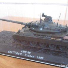 Macchiette: ALTAYA - CARROS DE COMBATE: MAQUETA EN METAL CARRO DE COMBATE AMX-30. Lote 217035787