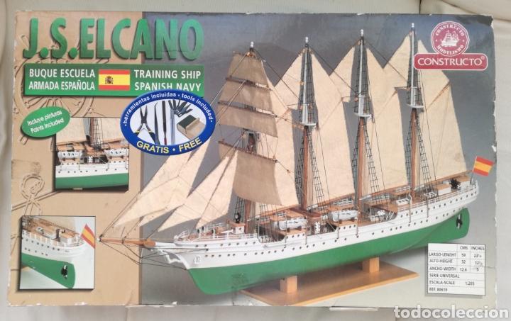 MODELISMO JUAN SEBASTIÁN EL CANO CONSTRUCTO. (Juguetes - Modelismo y Radiocontrol - Maquetas - Barcos)