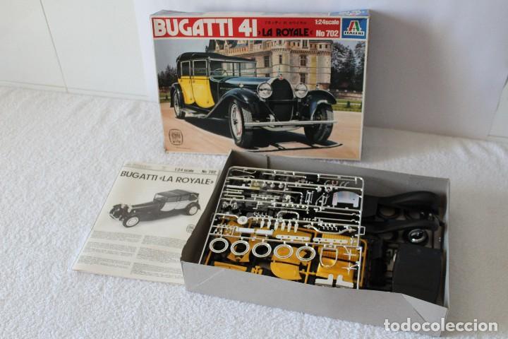 Maquetas: ITALERI ESCALA 1/24 - BUGATTI 4I LA ROYALE - MADE IN ITALY 1980 - Foto 2 - 127665787