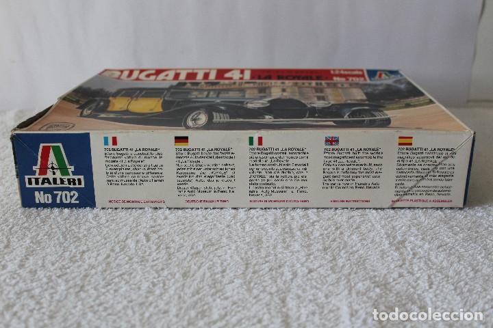 Maquetas: ITALERI ESCALA 1/24 - BUGATTI 4I LA ROYALE - MADE IN ITALY 1980 - Foto 6 - 127665787