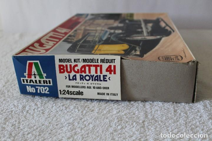 Maquetas: ITALERI ESCALA 1/24 - BUGATTI 4I LA ROYALE - MADE IN ITALY 1980 - Foto 7 - 127665787