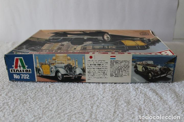 Maquetas: ITALERI ESCALA 1/24 - BUGATTI 4I LA ROYALE - MADE IN ITALY 1980 - Foto 8 - 127665787