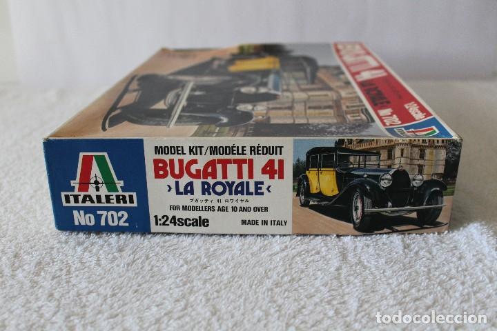 Maquetas: ITALERI ESCALA 1/24 - BUGATTI 4I LA ROYALE - MADE IN ITALY 1980 - Foto 9 - 127665787
