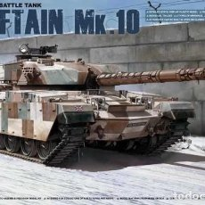 Maquetas: MAQUETA 1/35 - BRITISH MAIN BATTLE TANK CHIEFTAIN MK.10 TAKOM - NR. 2028 - 1:35. Lote 127863923