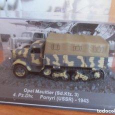 Maquettes: PANZER: Nº 31 - LOS BLINDADOS ALEMANES DE LA SEGUNDA GUERRA MUNDIAL (ALTAYA) 1/72. Lote 221938897