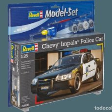 Maquetas: CHEVY IMPALA POLICE CAR REVELL. Lote 214812158
