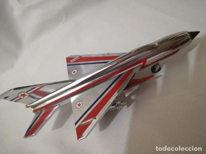 Maquetas: AVION METALICO-20 largo 11 ancho 6,5 alto (centimetros) peso 324 gramos-RARO, NO HAY NADA PARECIDO - Foto 2 - 128182415