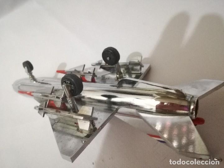 Maquetas: AVION METALICO-20 largo 11 ancho 6,5 alto (centimetros) peso 324 gramos-RARO, NO HAY NADA PARECIDO - Foto 8 - 128182415