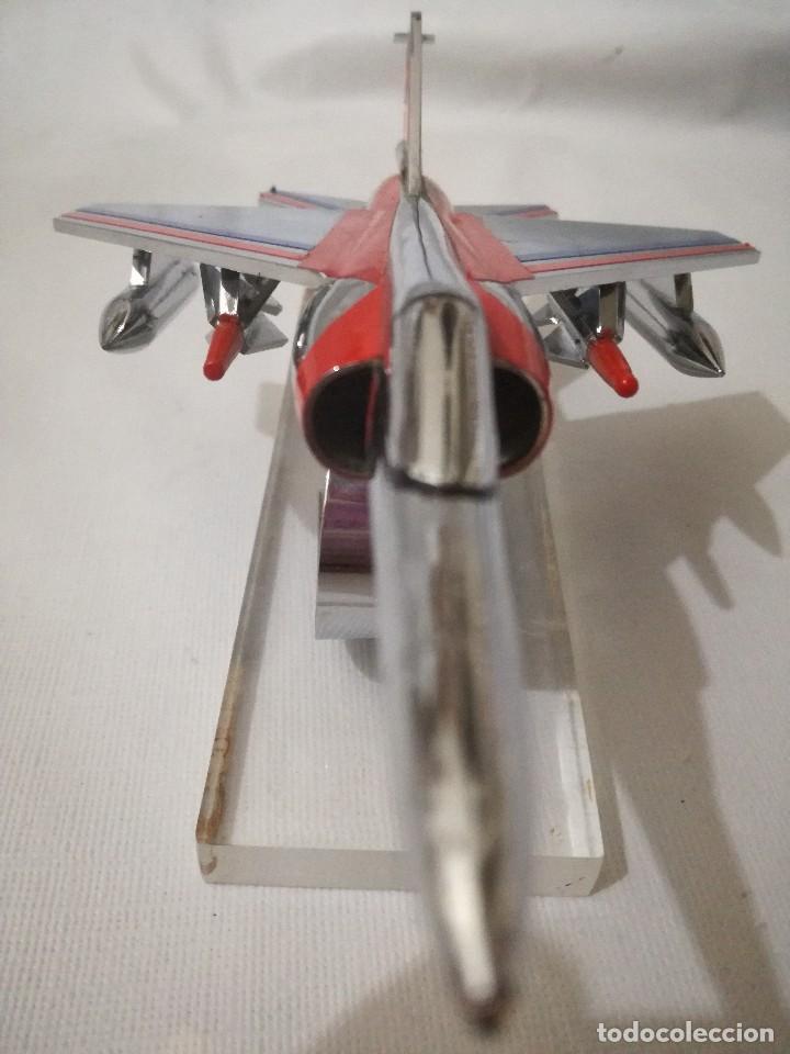 Maquetas: AVION METALICO-18,5 largo 11,5 ancho 7,5 alto (centimetros) 324 gramos-RARO, NO HAY NADA PARECIDO - Foto 4 - 128182523