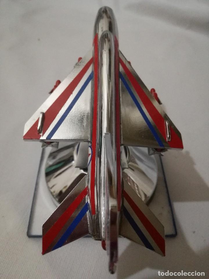 Maquetas: AVION METALICO-16,5 largo 8 ancho 9 alto (centimetros) 267 gramos-RARO, NO HAY NADA PARECIDO - Foto 3 - 128182751