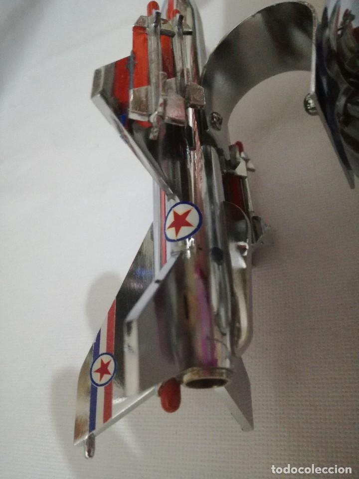 Maquetas: AVION METALICO-16,5 largo 8 ancho 9 alto (centimetros) 267 gramos-RARO, NO HAY NADA PARECIDO - Foto 7 - 128182751