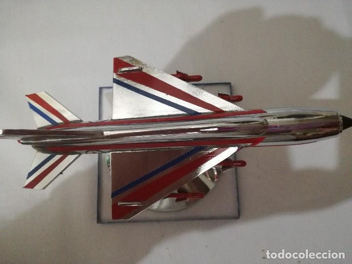 Maquetas: AVION METALICO-16,5 largo 8 ancho 9 alto (centimetros) 267 gramos-RARO, NO HAY NADA PARECIDO - Foto 10 - 128182751