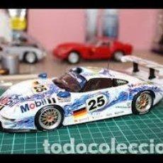 Maquetas: TAMIYA - PORSCHE 911 GT1 PINTADO POR PROFESIONAL PARA EXPONER EN FERIAS . Lote 128570219