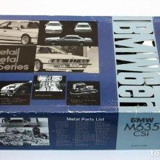 Maquetas: BMW M635 CSI - MAQUETA FUJIMI - MADE IN JAPAN - EN SU CAJA ORIGINAL, CON INSTRUCCIONES. Lote 128668043