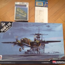 "Maquetas: B-25B MITCHELL "" DOOLITTLE RAID "" CON COKPIT AIRES 4097 FOTOGRABADO EDUARD 48323 1:48 ACADEMY 12302. Lote 128705052"