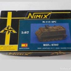 Maquetas: NIMIX.ESCALA 1.87.VEHICULO MILITAR M-13 APC.REFERENCIA 8707. Lote 128732955