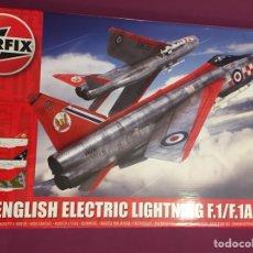 Maquetas: E.E.LIGHTNING F.1/F.1A 1:48 AIRFIX A09179 MAQUETA AVION. Lote 128736091