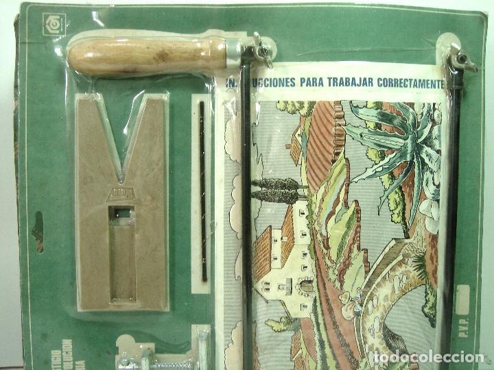 Maquetas: KIT MARQUETERIA - WUTO PRECINTADO REF:335 AÑOS 60 - CASERIO - HERRAMIENTAS JUGUETE INFANTIL BLISTER - Foto 2 - 129097375