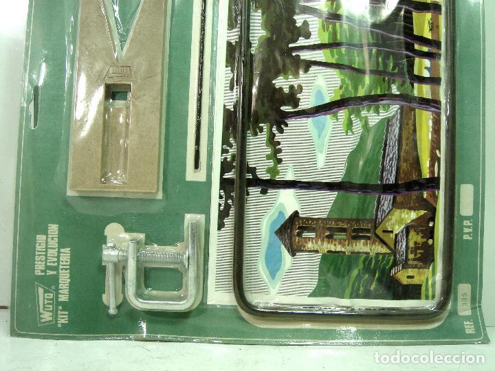 Maquetas: KIT MARQUETERIA - WUTO PRECINTADO REF:335 AÑOS 60 - PUEBLO - HERRAMIENTAS JUGUETE INFANTIL BLISTER - Foto 3 - 129097815
